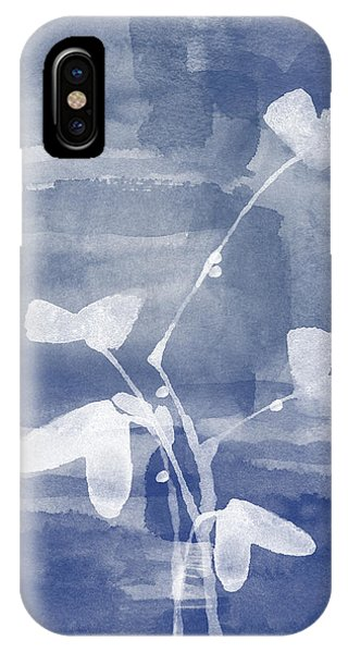 Contemporary Floral iPhone Case - Growth by Aged Pixel