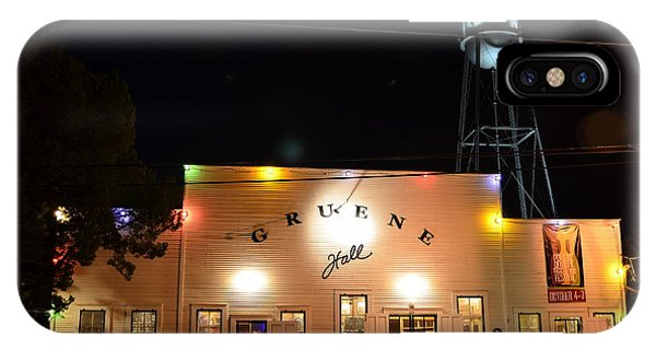 Gruene Hall IPhone Case