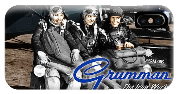 Grumman Test Pilots IPhone Case