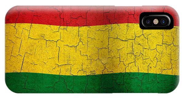 Grunge Bolivia Flag IPhone Case