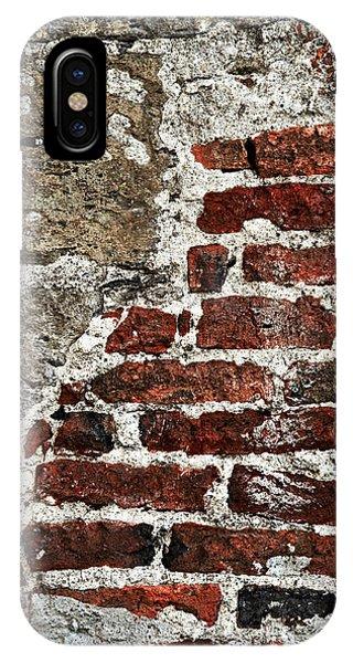 Stone Wall iPhone Case - Grunge Brick Wall by Elena Elisseeva