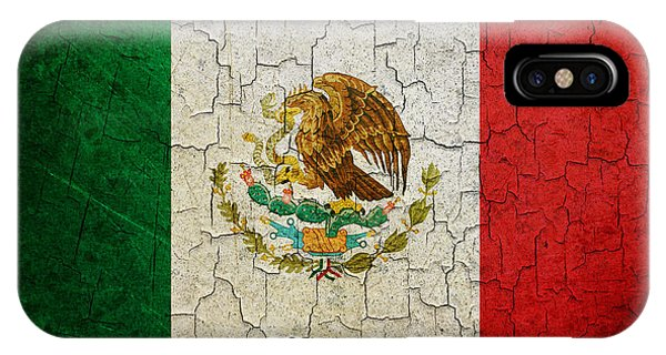 Grunge Mexico Flag IPhone Case