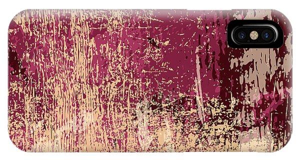 Space iPhone Case - Grunge Retro Vintage Paper Texture by Kaidash