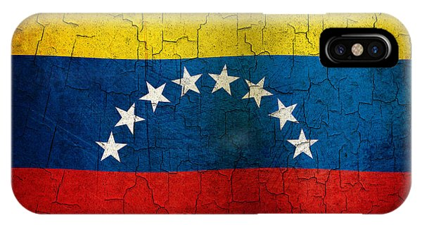 Grunge Venezuela Flag IPhone Case