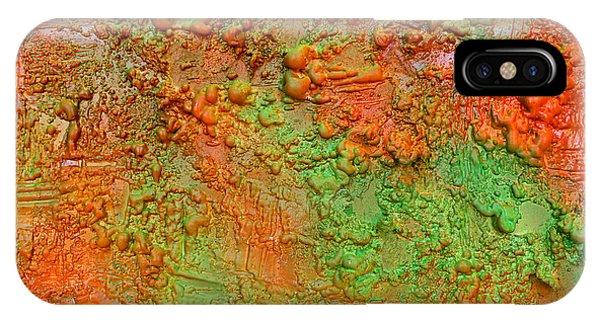Orange Abstract New Media  IPhone Case