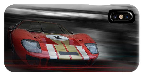Gt40 Red Phone Case by Roger Lighterness