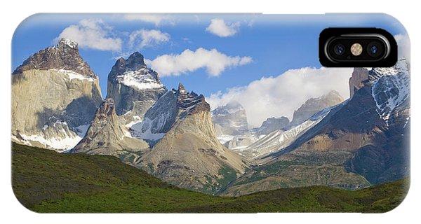 Guanaco And Cuernos Del Paine Peaks IPhone Case