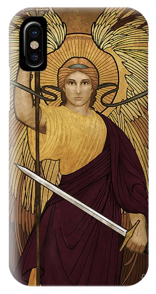 Angels iPhone Case - Guardian Of Souls by Lawrence Klimecki