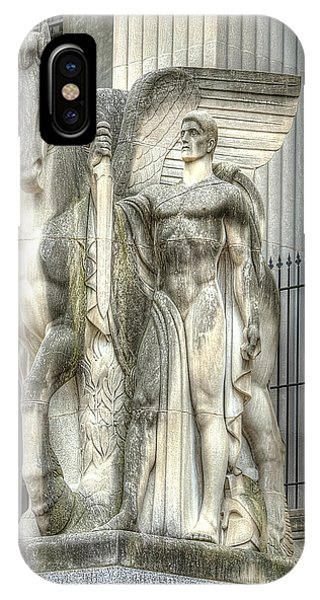 Guardian Of The Gate Phone Case by Honour Hall