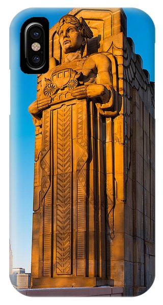 Guardian Towering Over Cleveland IPhone Case