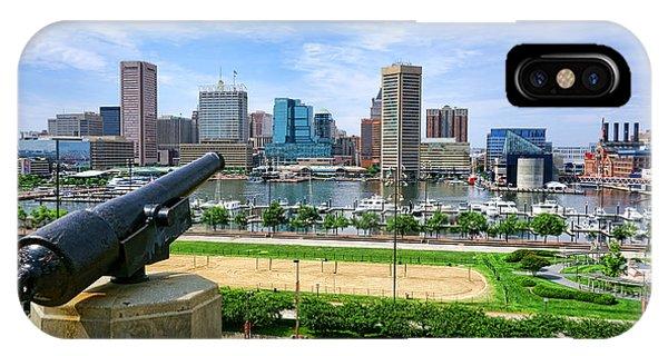 Guarding Baltimore IPhone Case