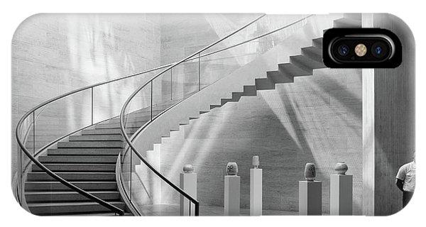 Staircase iPhone Case - Guarding The Jars by Jeroen Van De