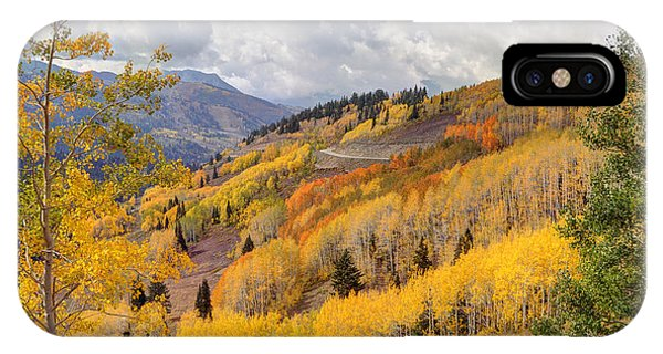 Guardsman Pass Aspen - Big Cottonwood Canyon - Utah IPhone Case