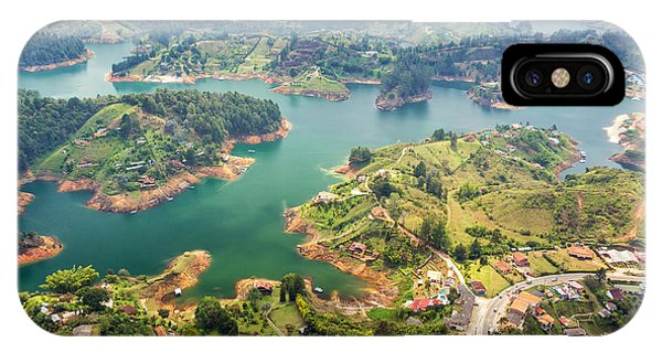 Colombia iPhone Case - Guatape Lake by Jess Kraft