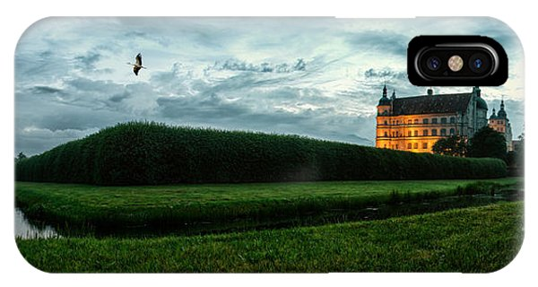 Wiese iPhone Case - Guestrow Panorama by ARTSHOT  - Photographic Art