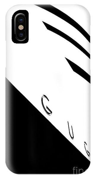 Exterior iPhone Case - Gugg by Az Jackson