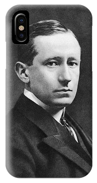 Guglielmo Marconi Phone Case by Miriam And Ira D. Wallach Division Of Art, Prints And Photographs/new York Public Library
