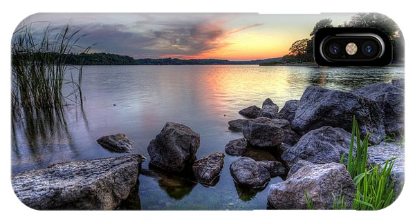 Guilford Lake Sunset IPhone Case