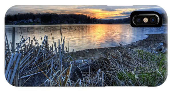 Guilford Lake Sunset Ohio IPhone Case