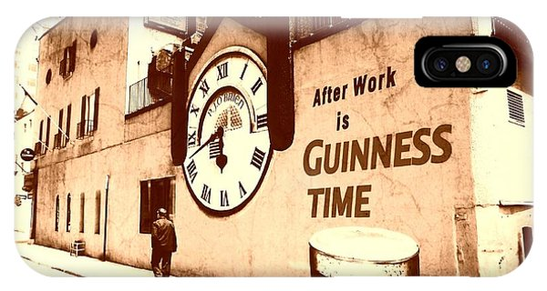 Guinness Time IPhone Case