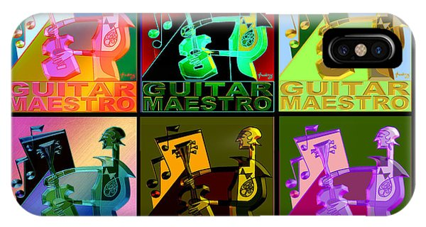 Guitar Maestro Variations IPhone Case