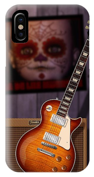 Guitar Scene IPhone Case