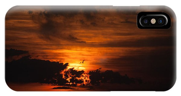 Gulf Coast Sunset 1 IPhone Case