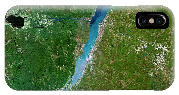 Quebec City iPhone Case - Gulf Of Saint Lawrence by Planetobserver/science Photo Library
