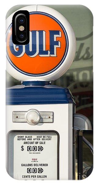 Gulf Oil Gas Pump IPhone Case