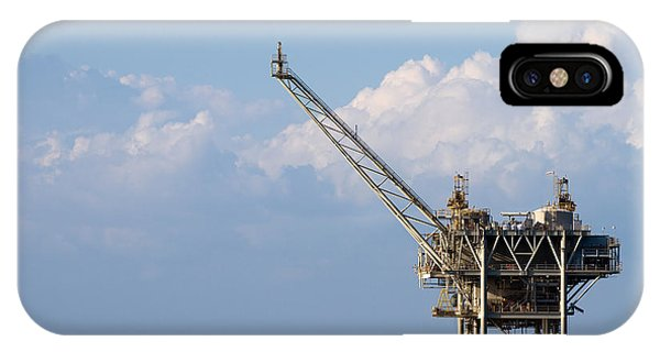 Gulf Oil Rig IPhone Case