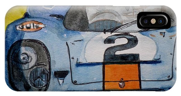 Gulf Porsche IPhone Case