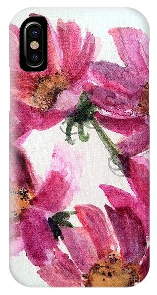 Gull Lake's Flowers IPhone Case