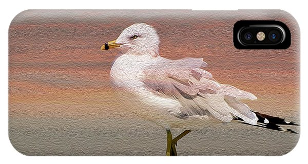 Gull Onthe Beach IPhone Case
