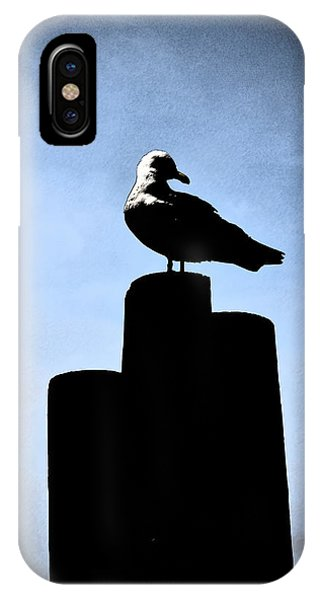 Gull Silhouette IPhone Case