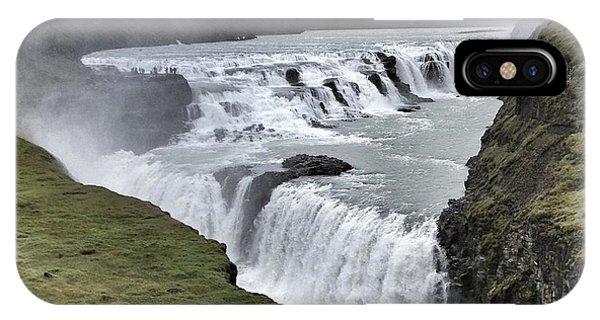 Gullfoss Falls Sw Iceland IPhone Case
