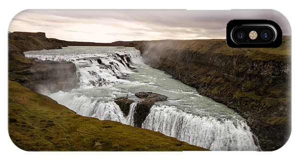Gullfoss IPhone Case