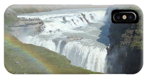 Gullfoss Waterfall IPhone Case