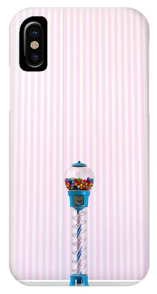 Dispenser iPhone Case - Gumball Machine In A Candy Store by Allan Swart
