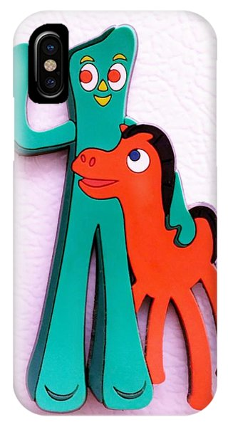 Gumby And Pokey B F F IPhone Case