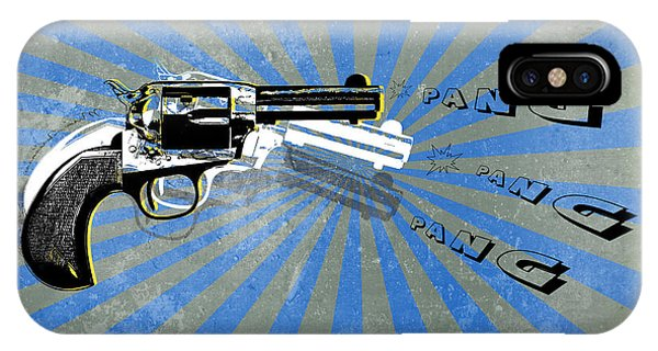 Weapons iPhone Case - Gun 17 by Mark Ashkenazi