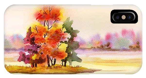 Gunpowder State Park In The Fall IPhone Case