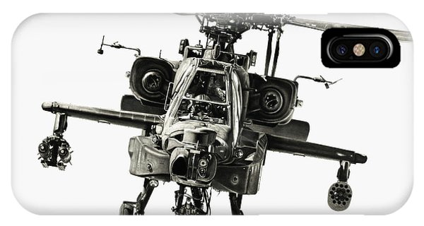 Helicopter iPhone Case - Gunship by Murray Jones