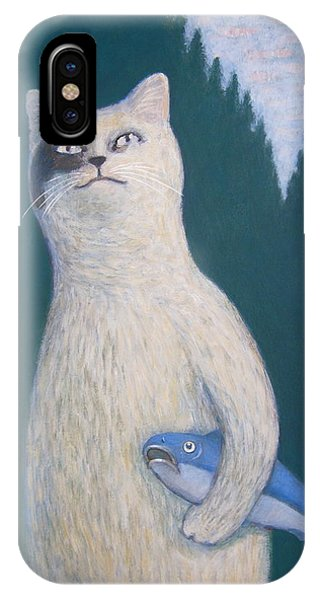 Gunter And His Pet Fish Klaus IPhone Case