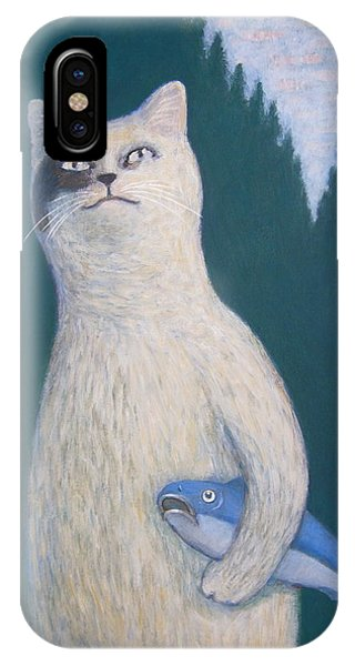 Gunter And His Pet Fish Klaus IPhone Case
