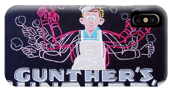 Gunthers Number 5 Phone Case by Paul Guyer