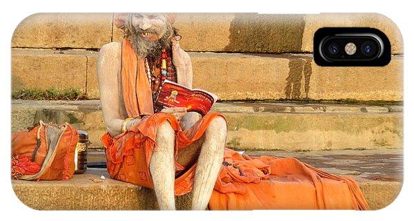 Guru On Ganges IPhone Case