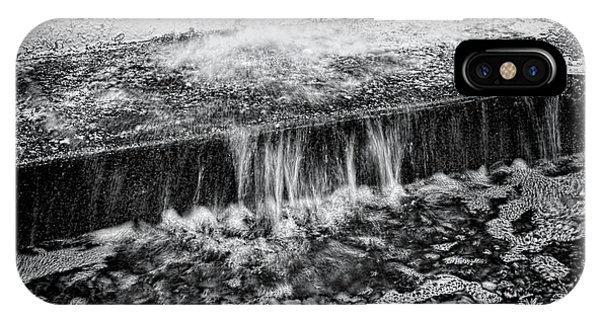 Drain iPhone Case - Gutter In Bw by Rudy Umans