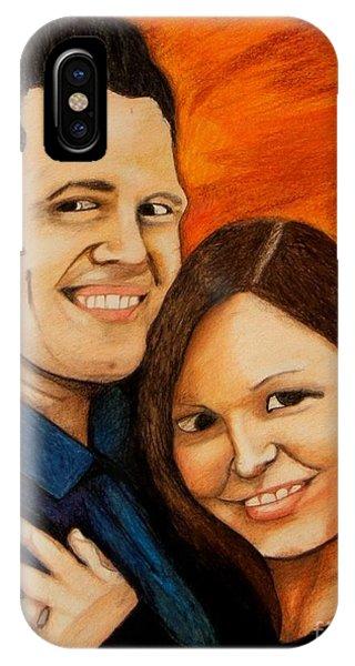 Guy And Bridget IPhone Case