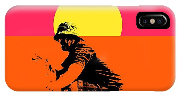 Guy Surfing  IPhone Case
