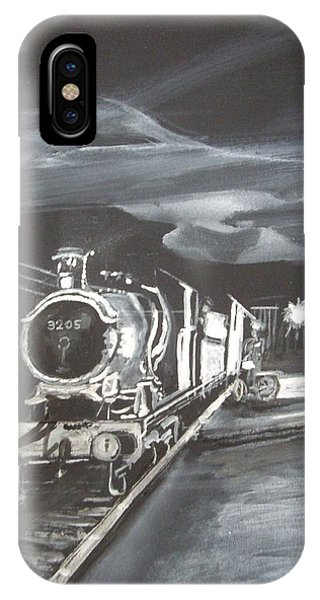 Gwr God's Wonderful Railway No 3205 IPhone Case